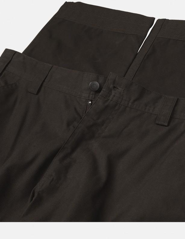 Asmund Brąz- wzmacniane spodnie dla wymagających