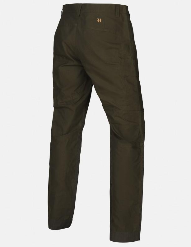 Asmund Zielone - wzmacniane spodnie dla wymagających