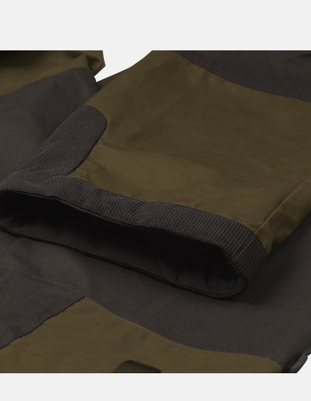 Hermod - letnie spodnie zielono-oliwkowe