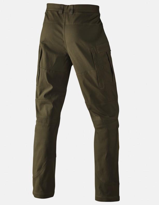 Ingels - letnie spodnie ze streczem zielone ROZM 50