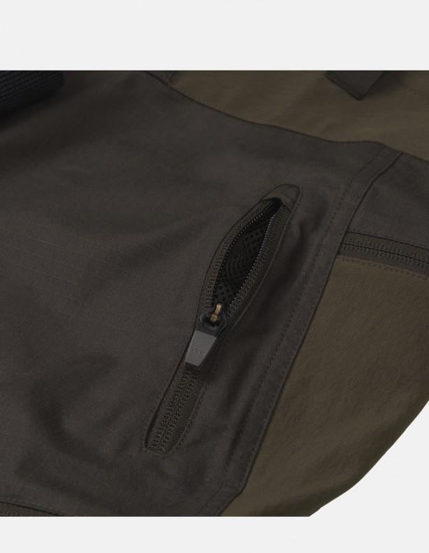 Ragnar willow green - elastyczne spodnie dla aktywnych zieleń