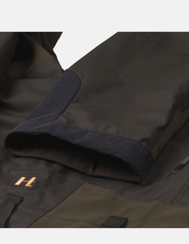 Spodnie letnie Ragnar + czapka MODI GRATIS! willow green - elastyczne spodnie dla aktywnych zieleń
