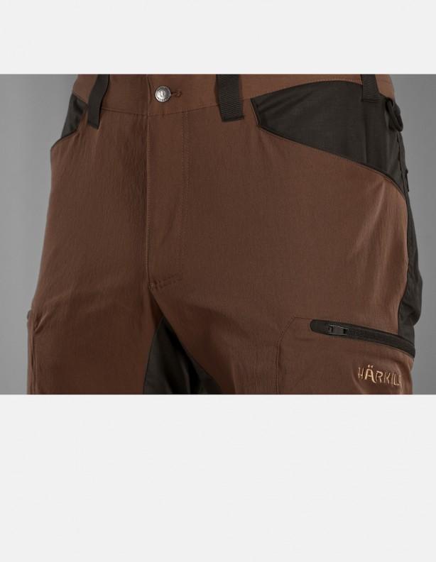Ragnar rustique clay - elastyczne spodnie dla aktywnych