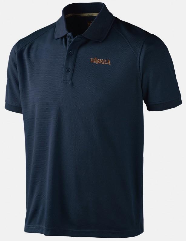 Gerit Insignia Blue - techniczna koszulka polo ROZM L