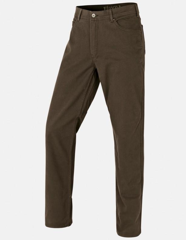 Hallberg 5 pocket - spodnie na co dzień i w łowisko - brąz