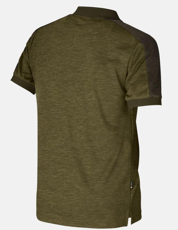 Harkila Tech Polo shirt dark olive / willow green ROZMIARY DO 5XL!
