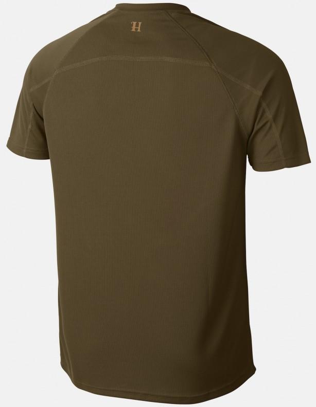 Herlet Tech light khaki - techniczny T-shirt ROZM L