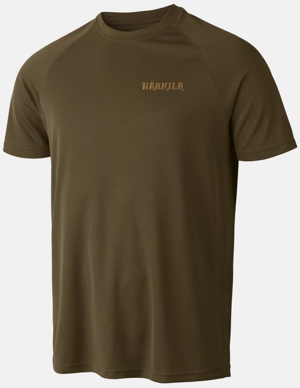 Herlet Tech light khaki - techniczny T-shirt