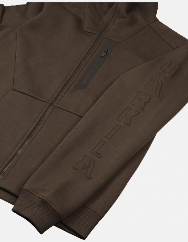 Hoodie brown - bawełniana bluza z kapturem