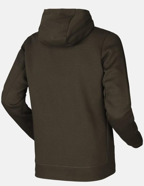 Hoodie green - bawełniana bluza z kapturem