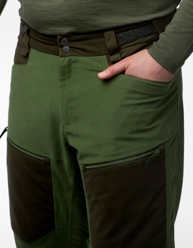 Apex Hunter Green - spodnie całoroczne membrana APS®