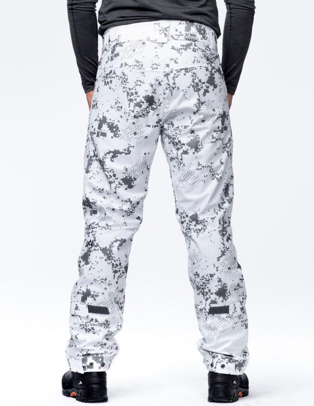 Apex BlindTech Invisible II Snow - spodnie całoroczne membrana APS®