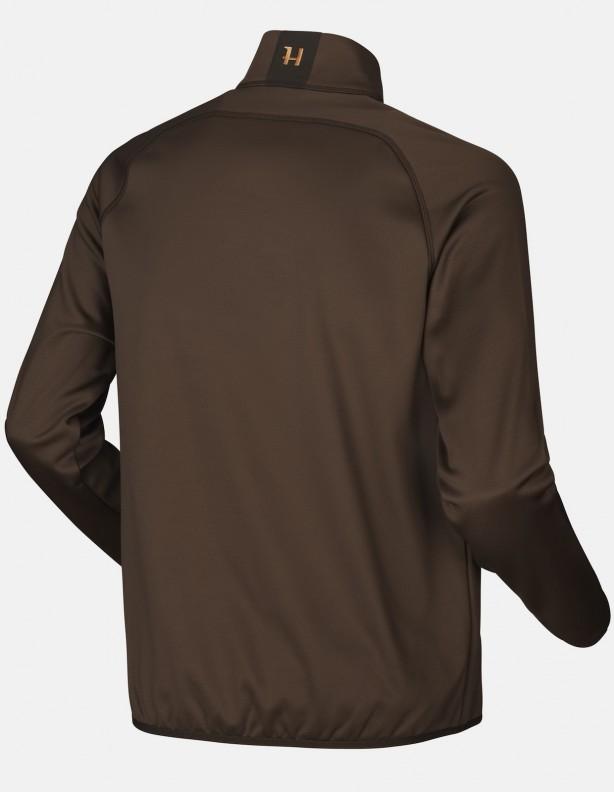 Njord - cienki elastyczny polar , kolor brązowy