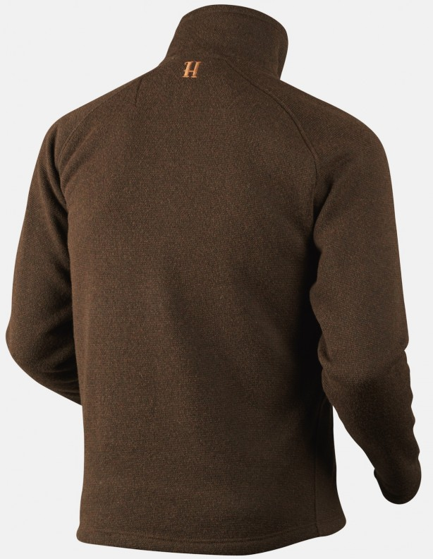 Nite Pullover warm olive - sweter ze skośnym zapięciem