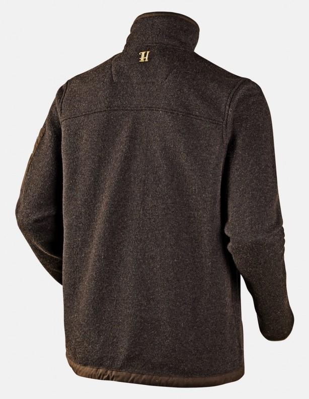 Norja Cardigan - ciepły sweter z lekkiej wełny brązowy