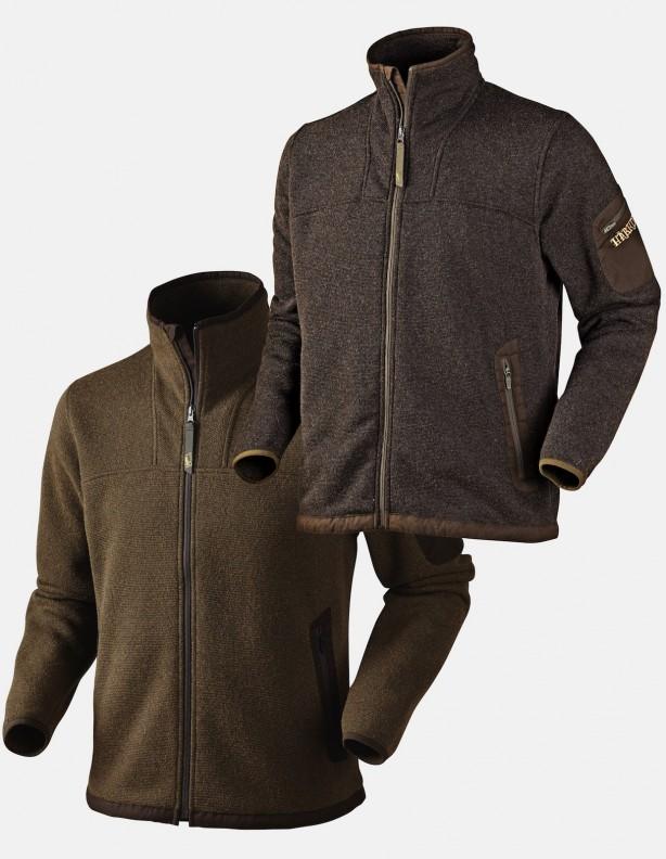 Norja Cardigan - ciepły sweter z lekkiej wełny. Kolor brąz.