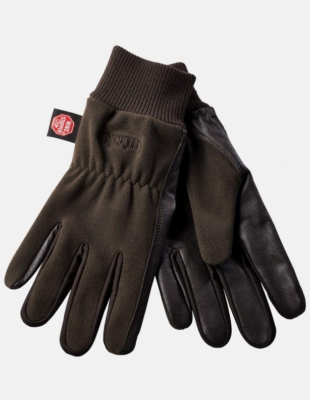 Rękawice Pro Shooter brąz membrana Windstopper®