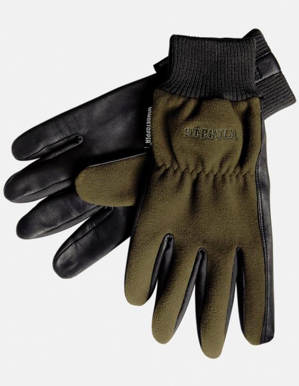 Rękawice Pro Shooter zieleń membrana Windstopper®