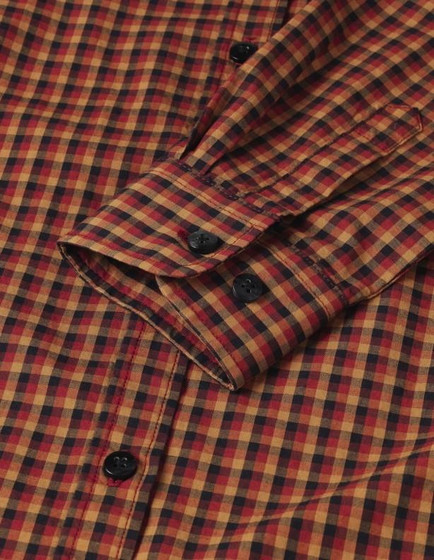 Selja Lady red check - cienka letnia koszula damska 100% bawełna