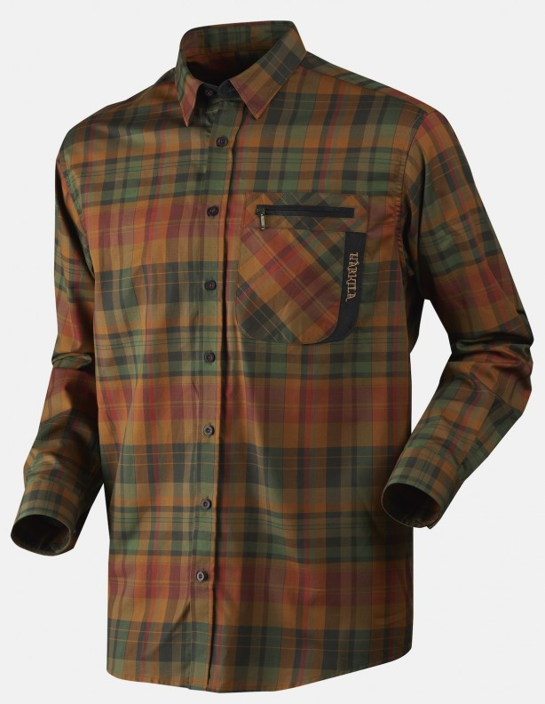 Newton spice check - koszula bawełniana
