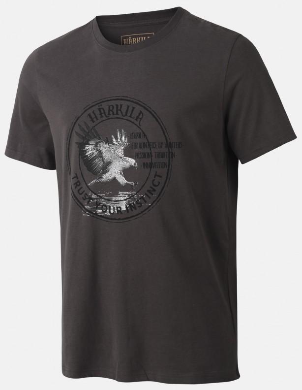 Wildlife mulch grey - bawełniana koszulka Eagle