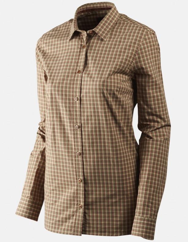 Selja Lady rose check - ciecka letnia koszula damska 100% bawełna