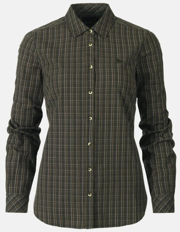 Claire lady - koszula dla Dian z długim rękawem olive night