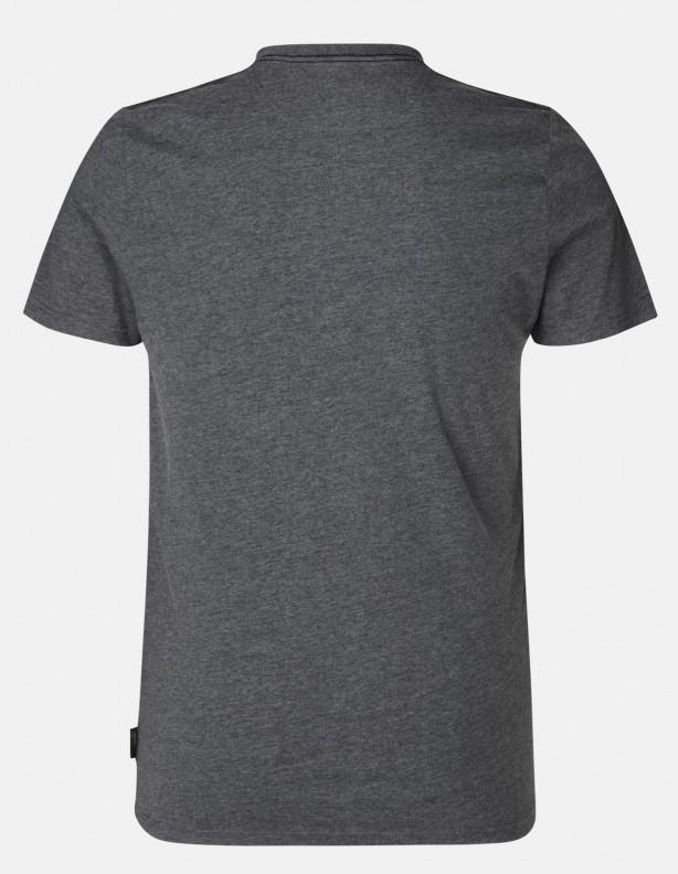 Key-Point grey - bawełniana koszulka rozmiary do 3XL!