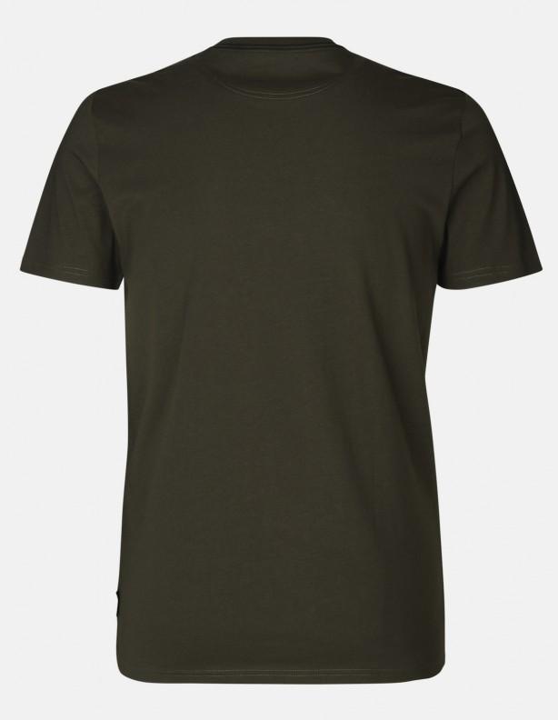 Key-Point pine green - bawełniana koszulka z psem ROZM DO 5XL!