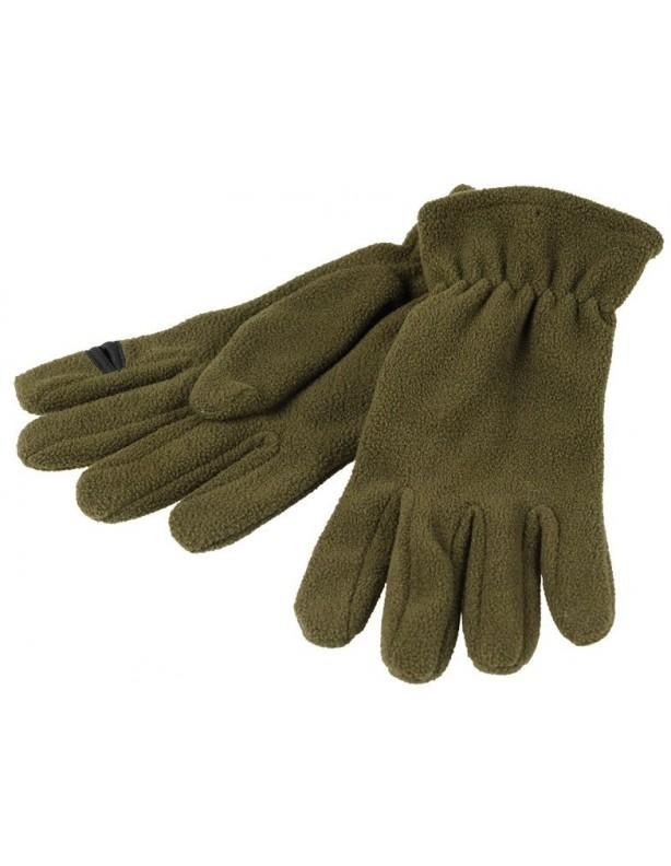 Rękawiczki polarowe z przecięciem na palec wskazujący
