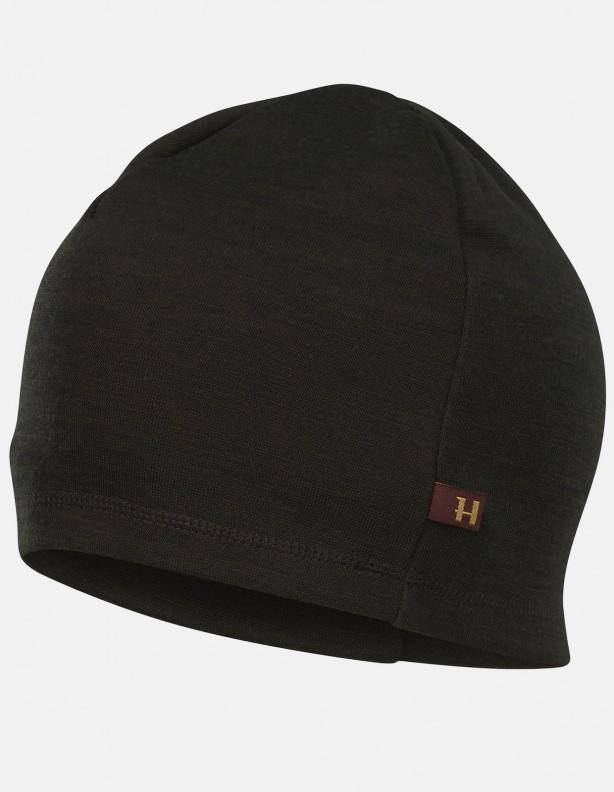 Tibro beanie - cienka czapka z wełną z merynosa