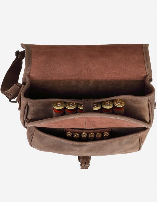 River - torba myśliwska na ramię z ładownicami na amunicję