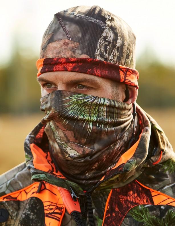 Moose Hunter - dwustronny ocieplacz na szyję
