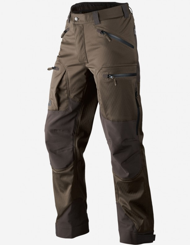Hawker Shell pine green - całoroczne spodnie softshellowe
