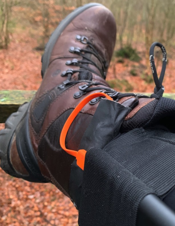 Grzejące wkładki do butów bez zasilania
