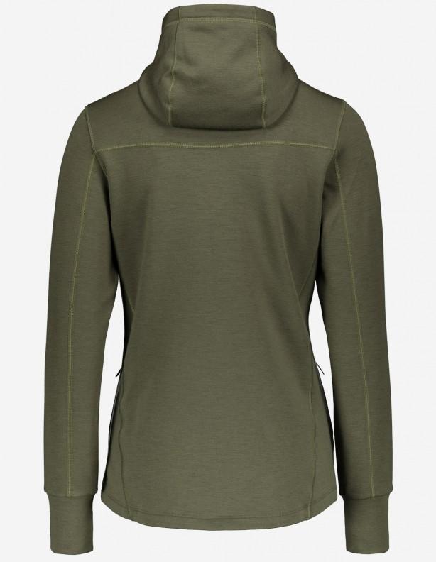 Bluza damska z kapturem Hoodie 55% wełna z merynosa