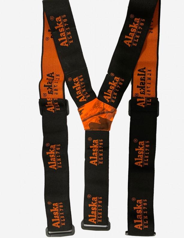 Alaska szelki do spodni Superior czarne