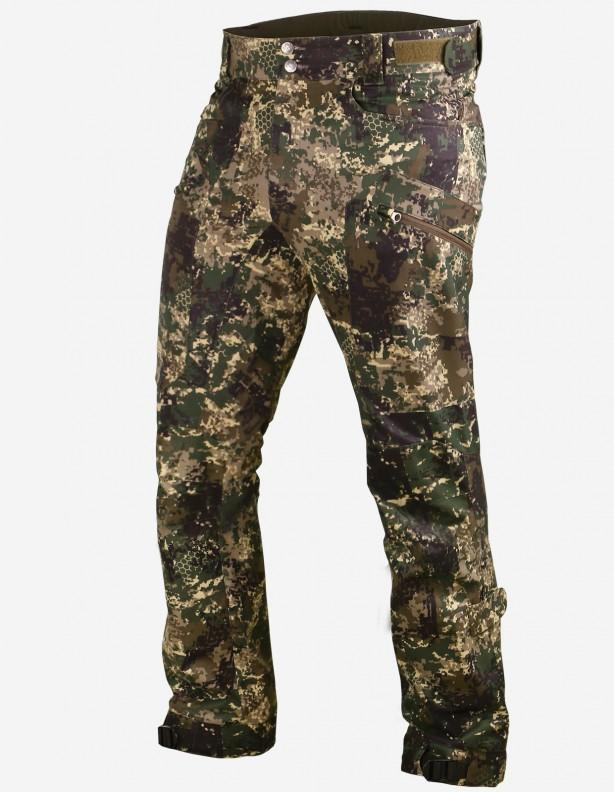 Vapor camo - Spodnie letnie z częściową membraną ROZMIAR M