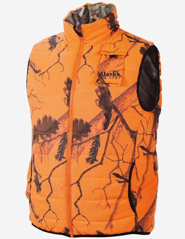 Tundra BlindMax orange - dwustronna ciepła kamizelka ROZM L