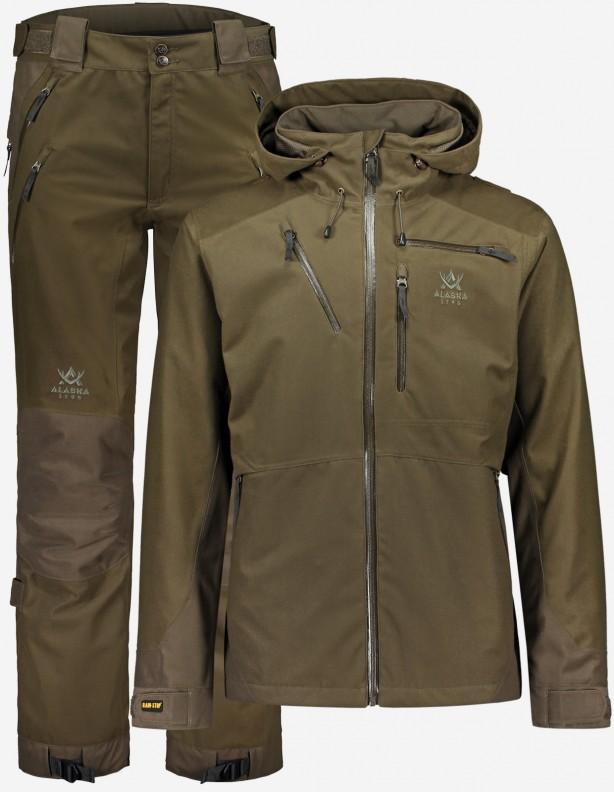 Superior II Brown - zestaw całorocznych ubrań myśliwskich membrana Rain-Stop®