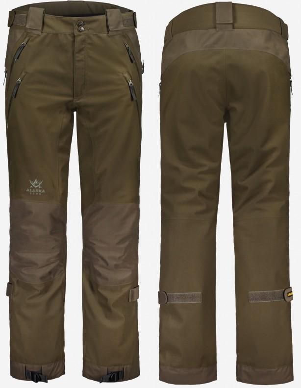 Superior II Brown - całoroczne spodnie myśliwskie z membraną