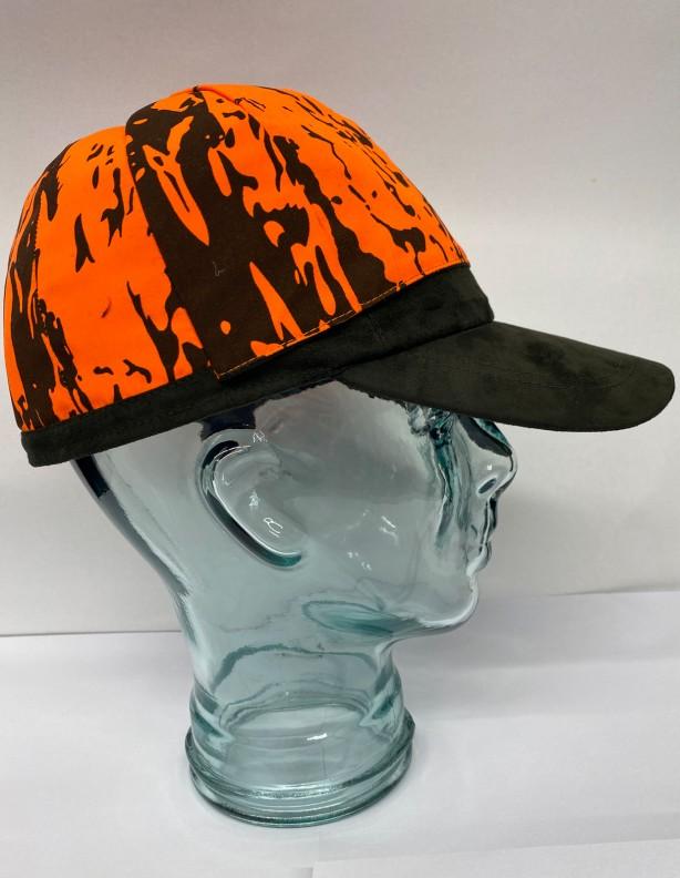 Alaska - wodoodporna dwustronna czapka z wyciąganymi polarowanymi uszami