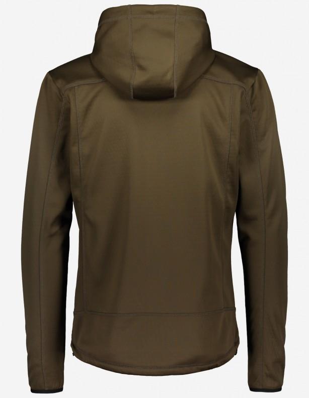 Sniper - cienka elastyczna letnia bluza brązowa