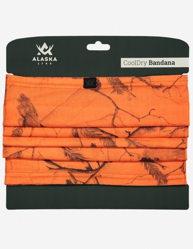 Alaska bandana  / ocieplacz na szyję CoolDry® pomarańcz