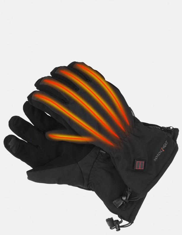 Rękawice grzejące grube - unisex trzy poziomy grzania