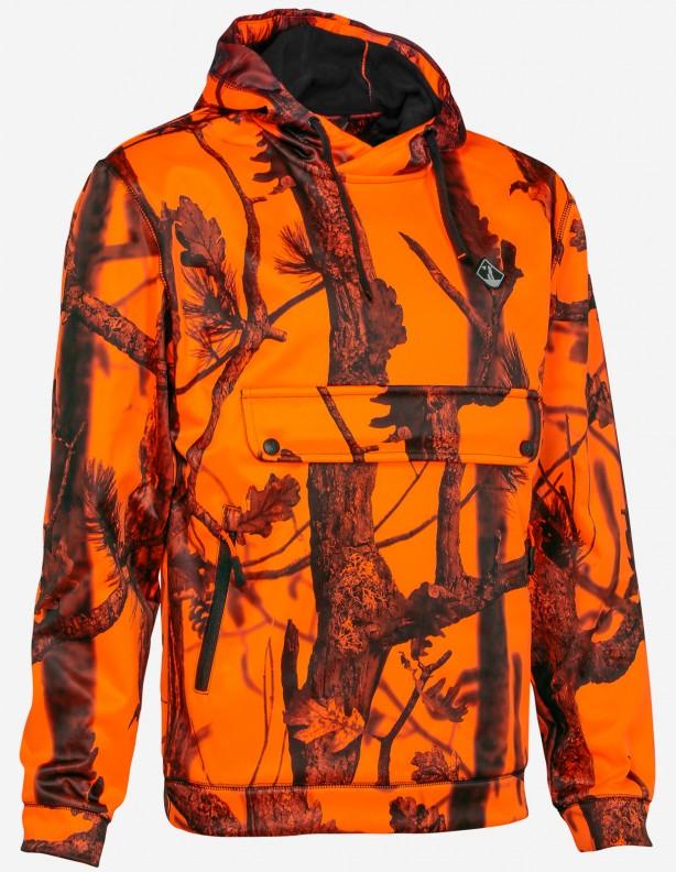 Bluza polarowa z kapturem Blaze Camo