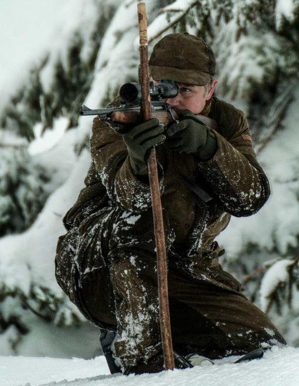 Grand Nord - zimowe spodnie ocieplone grubym polarem