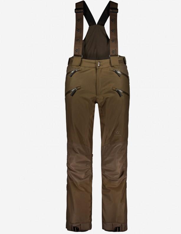 Tundra olive - ocieplane spodnie myśliwskie membrana Rain-Stop® ROZM DO 4XL!