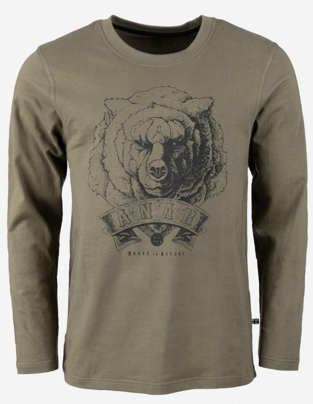 Bear koszulka z długim rękawem niedźwiedź