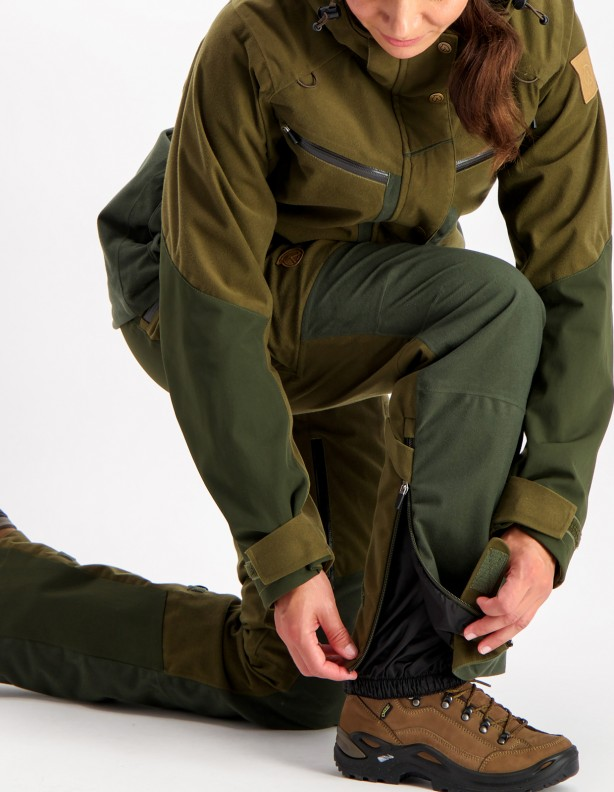 Hirvas Green Lady - spodnie całoroczne membrana ADS